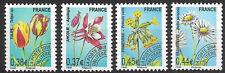 France-Timbres préoblitérés-Flore-Fleurs-Y&T n° 253 à 256 neufs**