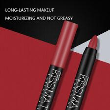 19 Color Long-Lasting Waterproof Matte Lipstick Pigmented Moisturizing Lip Rolli