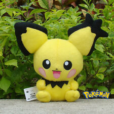"Pokemon Center Go Plush Toy Pichu 8"" Cuddly Soft Stuffed Animal Doll Nintendo"