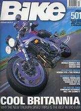 BIKE Dec 2001 CBR900RR GSX-R750, R1, 916, VFR, XLV600 Pegaso F650 Transalp