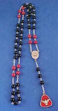 ONYX JADE CHAPLET of HOLY GHOST Spirit Rosary Saint Medal Prayers Confirmation