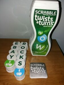 Scrabble Twists and Turns - Word Game By Mattel - 100% Complete