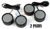 2 PACK 500w High Frequency Car Truck  Stereo Super Tweeters Built-in Crossover X