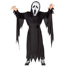 Disfraz de asesino enmascarado fantasma carnaval halloween chico espeluznante