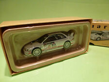 VANGUARDS 1:43 SUBARU IMPREZA TURBO RCM 2008 - VA12301    - IN  ORIGINAL  BOX
