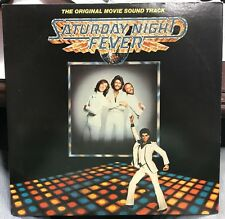 VARIOUS ARTISTS SATURDAY NIGHT FEVER SOUNDTRACK LP 1977 RSO RS-2-4001 INNERS