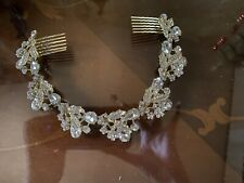 Beautiful Bridal Hair Accessories Include Earrings