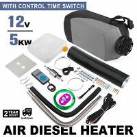 12V 5000W Air diesel Heater Fuel 5KW For Trucks Bus Boats Car Digital Display
