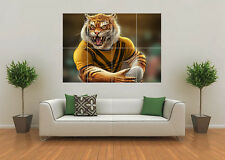 WEST TIGERS INSPIRED RUGBY NRL MASCOT GIANT WALL ART POSTER PRINT