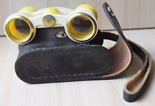 Vintage Collectible Russian USSR Opera Binoculars 2.5x24-65 Rare Color In Case