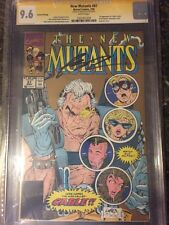 "NEW MUTANTS #87 ""GOLD EDITION"" CGC SS 9.6 WHITE PAGES 1ST CABLE SS LIEFELD"