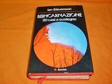 ian stevenson reincarnazione 20 casi a sostegno carton. sovracoperta 1980