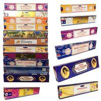 Original Sri Satya Sai Baba Nag Champa Incense Sticks Joss Relaxation Agarbatti