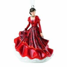 Royal Doulton HN 5865 Pretty Lady in Red Joy to The World Ornament Figurine
