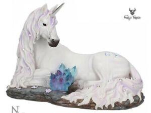 Unicorn Jewelled Tranquillity Statue Ornament Lying Down Figurine Nemesis Now 19