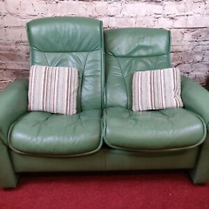 Ekornes Stressless Leather 2 Seat Reclining Sofa (2083)  **Offer Price**