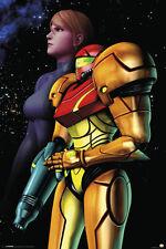 METROID SAMUS SPACE 24x36 POSTER NINTENDO VIDEO GAME FUN CONTROLLER WII GAMER!!