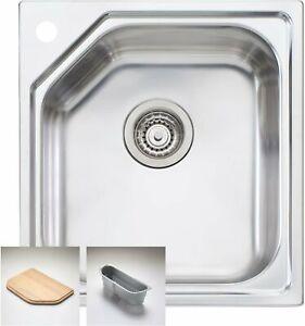 Oliveri Nu-petite Standard Bowl Inset Sink NP610