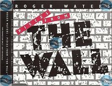 THE WALL LIVE IN BERLIN CD PROMO SAMPLER cyndi lauper scorpions roger waters