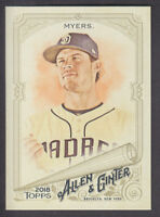 Topps - Allen & Ginter 2018 - Base # 96 Wil Myers - San Diego Padres