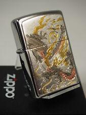 Zippo Dragon Electroforming Beautiful Japanese design Collectible Wagara Rare