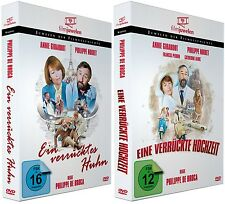 Ein verrücktes Huhn + Eine verrückte Hochzeit [DVD Doppelpack] - Filmjuwelen