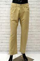 Pantalone Uomo CARRERA Taglia Size 42 Pants Man Gamba Dritta Bianco Classic Fit