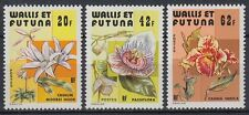 Wallis et Futuna 1979 ** Mi.349/51 Flora Blumen Flowers Lilie Lily [sq5263]