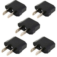 Quality 5pcs EU To US Travel Charger AC Power Plug Adapter Converter  bd