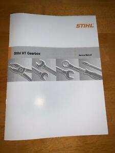 Stihl Pole Saw HT Gearbox Service Workshop Repair Manual