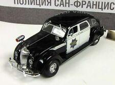 DeAgostini 1:43 Chrysler Airflow San Francisco police 1936 series World police