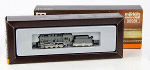 Vintage Marklin Mini-Club 88981 Z Scale Gray Steam Locomotive 5239 with Tender