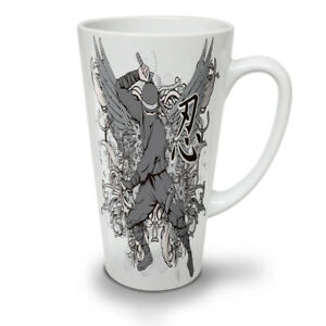 Ninja Wings Art Fantasy NEW White Tea Coffee Latte Mug 12 17 oz | Wellcoda