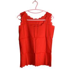 2016 Chiffon Tops Charm Womens Vest Slim Sleeveless Shirt Casual Blouse