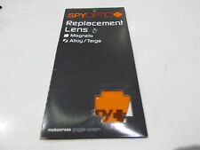 VISIERE CLAIRE ROLLOFF CLEAR REPLACEMENT LENS SPY OPTIC ALLOY 9 AMX905F-R01