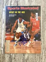 Phil Ford (HOF) UNC Tar Heels Signed Auto March 1975 Sports Illustrated Cover
