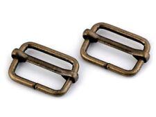 20mm Metall Gurtband-Versteller Schieber Gurtschieber Gurtversteller Stopper