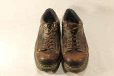 Dr. Martens Airwair Mens Brown Leather 5 Eye Lace Up Rugged Shoes Size 13 M