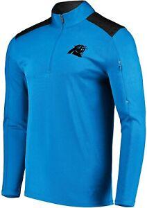 Carolina Panthers Men's Ultra Streak 1/2 Zip Performance Top Jacket