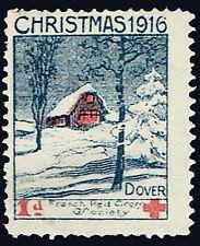 WWI Delandre Red Cross - Christmas 1916 Dover