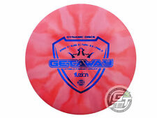 New Dynamic Discs Fuzion Burst Getaway 168g Dark Pink Blue Foil Driver Golf Disc