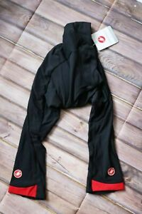 Castelli Women's Velocissima Thermal flex 3/4 Knicker Size S UK 10 BNWT Black