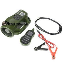 Hunting Mp3 Bird Caller Decoy Sound Player w/ Remote Control 400 Sounds Outdoor