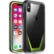 Poetic For Apple iPhone X Full-Body Case [Guardian Series] Shockproof TPU Green