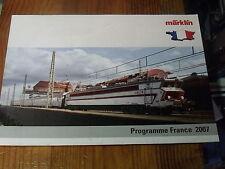 8µ? Catalogue Marklin Programme FRANCE 2007
