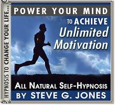 DR.STEVE G. JONES Clinical Hypnotherapist  UNLIMITED MOTIVATION HYPNOSIS CD
