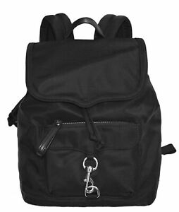 NWT Rebecca Minkoff Bikeshare Backpack Bag School Travel Purse Black MSRP $195