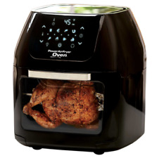 Air Fryer Oven Large Rotisserie Hot Digital Greaseless Fryer Deep Electric Black
