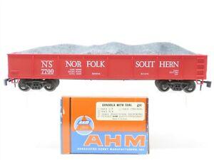 O Scale 2-Rail AHM 7304C NS Norfolk & Southern Gondola #7700 w/ Coal Load