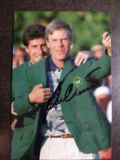 New listing BEN CRENSHAW Hand Signed Autograph 4X6 Photo - MASTERS CHAMPION - GOLF LEGEND